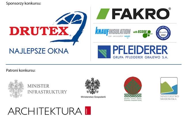 Konkurs Dom Ekologiczny wspierały następujące firmy i instytucje