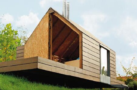 drewniany domek dla dzieci. Zobacz propozycje projektantów - domek
