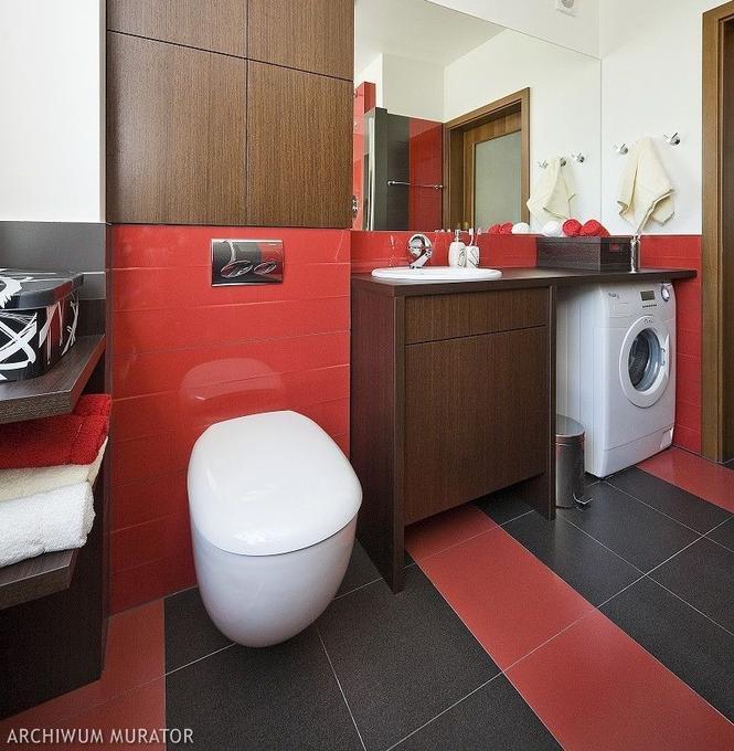 Aranżacja czerwonej łazienki - inspiracje i zdjęcia ...