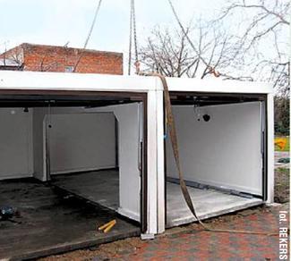 Garaż gotowy z prefabrykatów betonowych (2)