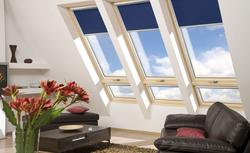 Wybieramy rolety, żaluzje i plisy do okien dachowych
