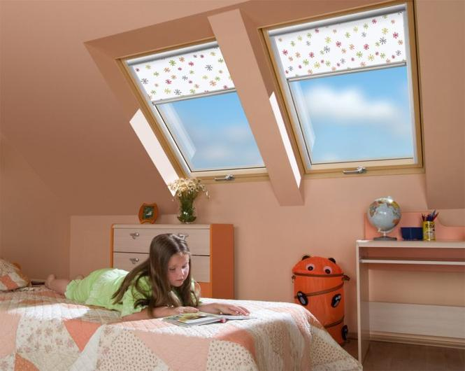 Okna obrotowe w pokoju dziecięcym