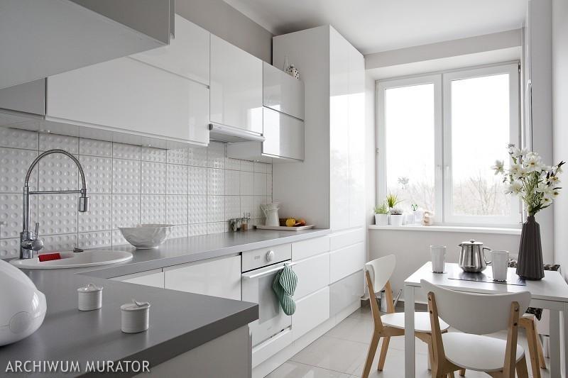 Galeria zdjęć  Kuchnia biała, kuchnia szara 10 aranżacji   -> Kuchnia Minimalistyczna Biala