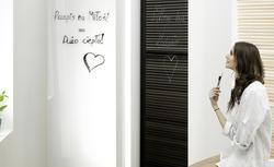 Grzejnik łazienkowy, po którym możesz pisać