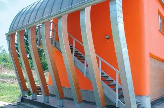 Nowoczesne schody do nowoczesnego budynku
