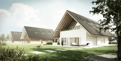 """Okna energooszczędne pozyskujące energię. Nowoczesna stolarka okienna w """"Domu Optymalnym"""""""