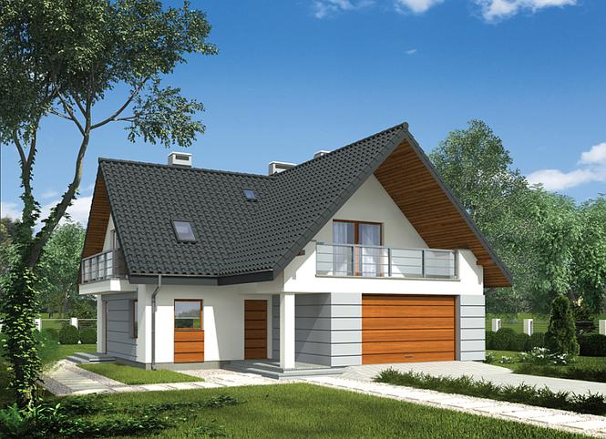 Projekt domu Promień słońca