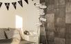 Fototapeta w sypialni - beton