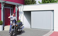 Masz w garażu rower, motocykl? Wybierz bramę segmentową boczną