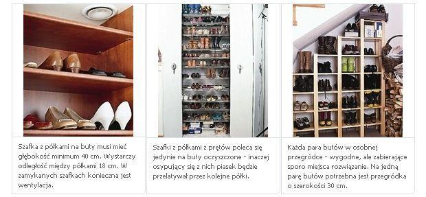 Garderoby, szafy, schowki