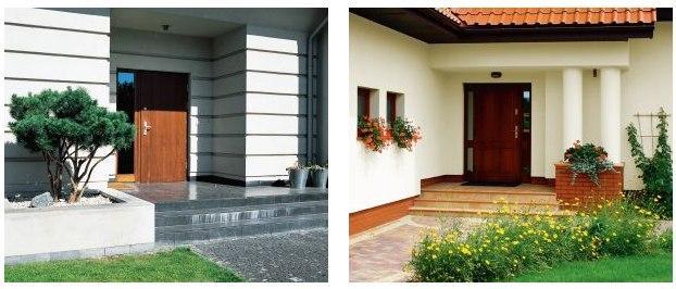 Rodzaje drzwi wejściowych