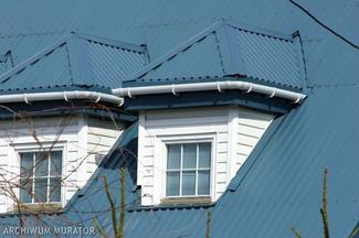 Pokrycie dachowe z blachy trapezowej