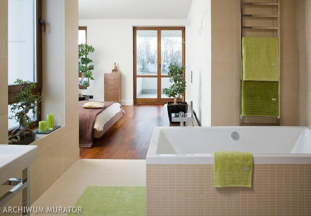 Nowoczesna sypialnia połączona z łazienką: przesada czy wygoda? Galeria zdjęć - Wnętrza ...